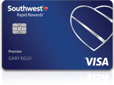 Picture of the Southwest Rapid Rewards Premier Credit Card front