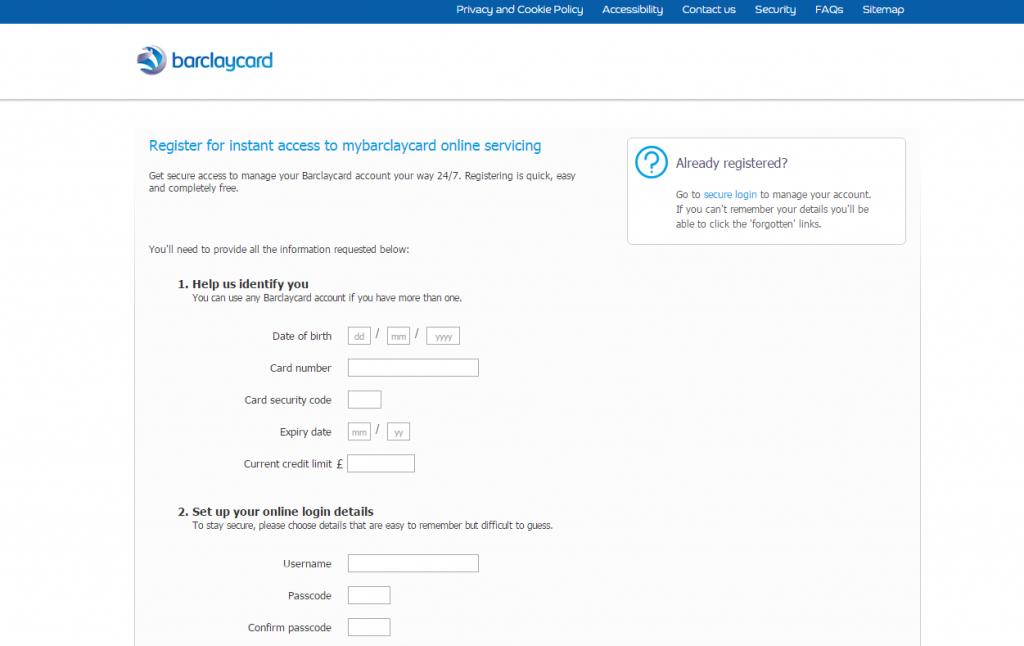 barclaycard rewards mastercard login  make a payment