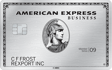 Picture of the The Business Platinum® Card from American Express front