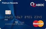 Picture of the Amalgamated Platinum Rewards MasterCard Credit Card front