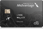 Picture of the Citi AAdvantage Executive Credit Card front