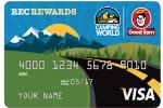 Picture of the Good Sam Camping World Visa Credit Card front