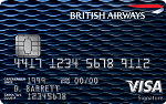 Picture of the British Airways Visa Signature Credit Card front