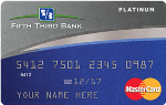 Picture of the Fifth Third Platinum MasterCard front