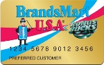 Picture of the BrandsMart USA Credit Card front