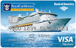 Picture of the Royal Caribbean Visa Credit Card front
