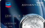 Picture of the Texaco Techron Advantage Credit Card front