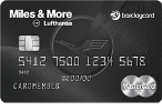 Picture of the Miles and More Premier World Mastercard front