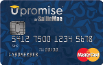 Picture of the Upromise Mastercard Credit Card front