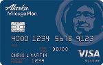 Picture of the Alaska Airlines Visa Credit Card front