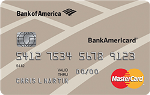 Picture of the BankAmericard Secured Credit Card front