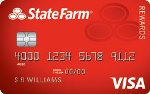 Picture of the State Farm Rewards Visa Credit Card front