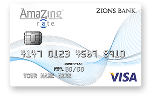 Picture of the Zions AmaZing Low Rate Credit Card front