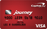 Picture of the Capital One Journey Student Rewards Credit Card front
