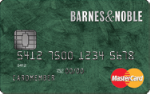 Picture of the Barnes and Noble Credit Card front