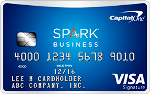 Picture of the Capital One Spark Business Miles Credit Card front