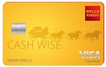 Picture of the Wells Fargo Cash Wise Visa Card front