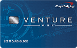 Picture of the Capital One VentureOne Credit Card front