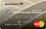 Picture of the BankAmericard Better Balance Rewards Credit Card front