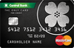 Picture of the Central Bank ONLY Card MasterCard front