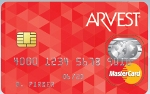 Picture of the Arvest Classic Mastercard Credit Card front