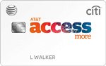 Picture of the AT&T Access More Citi Credit Card front