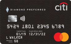 Picture of the Citi Diamond Preferred Credit Card front