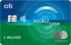 Picture of the Citi Double Cash Credit Card front