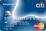 Citibank Simplicity Credit Card