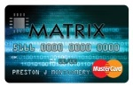 Picture of the Continental Finance Matrix Credit Card front