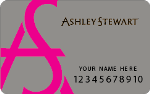 Picture of the Ashley Stewart Credit Card front