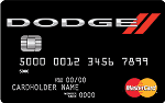Picture of the Dodge Mastercard Credit Card front