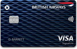 Picture of the British Airways Visa Signature® Card front