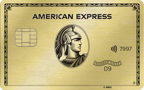 Picture of the American Express® Gold Card front