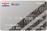 Picture of the Exxon-Mobil Business Credit Card front