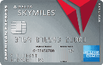 Picture of the American Express Platinum Delta SkyMiles Business Credit Card front
