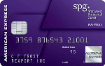 Picture of the American Express Starwood Preferred Guest Business Card front