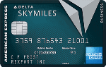 Picture of the American Express Delta Reserve For Business Credit Card front