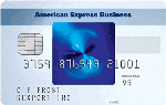 Picture of the American Express Blue For Business Credit Card front