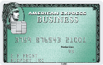 Picture of the American Express Business Green Rewards Credit Card front