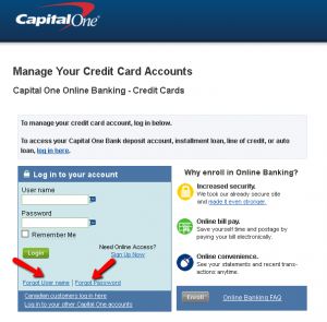 Capital One Credit Card Online Payment Login >> Capital One Spark Business Classic Credit Card Login Make A