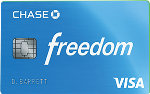Picture of the Chase Freedom Credit Card front