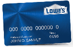 Picture of the Lowe's Consumer Credit Card front