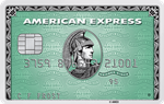 Picture of the Amex Green Credit Card front