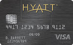 Picture of the Hyatt Credit Card front