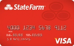 Picture of the State Farm Student Visa Credit Card front