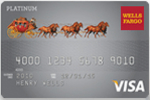 Picture of the Wells Fargo Secured Visa Credit Card front