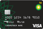 Picture of the BP Visa Credit Card front