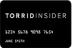 Picture of the Torrid Credit Card front