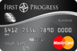 Picture of the First Progress Platinum Select Mastercard Secured Credit Card front